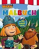 Malbuch Wickie und die starken Männer: Mit 128 farbigen Seiten - .