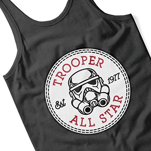 Star Wars Storm Trooper 2 All Star Converse Logo Men's Vest Black