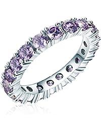 Rafaela Donata - Bague - Argent sterling 925 oxyde de zirconium - Bijoux pour femmes - En plusieurs tailles, bague oxyde de zirconium, bijoux en argent - 60800232