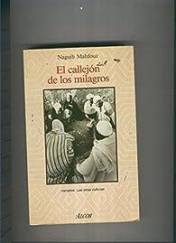 El callejon de los milagros par Naguib Mahfuz