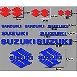 PEGATINAS MOTO RGSX SUZUKI R170 STICKERS AUFKLEBER DECALS AUTOCOLLANTS ADESIVI (AZUL-ROJO)