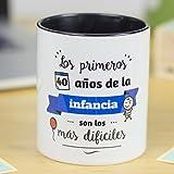 La Mente es Maravillosa   Taza cerámica de café o desayuno   Regalo original para AMIGO o AMIGA   RESISTENTE...