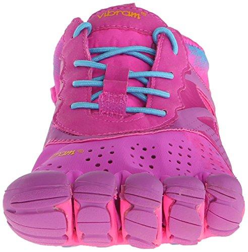Vibram Fivefingers - V-run, Scarpe sportive outdoor Donna Mehrfarbig (Purple/blue)