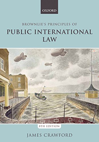 Brownlie's Principles of Public International Law por James Crawford