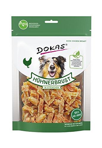 DOKAS Glutenfreier Premium Snack in praktischer Größe für Hunde - Ideal zum Training