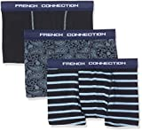 French Connection Men's 3 Pack Box Boxer Briefs