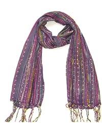 Lovarzi - Colgantes del corazón de mujer bufanda - día de san valentín / navidad regalo para ella - joyería bufandas