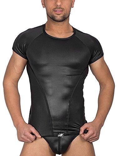 Eros Veneziani Alessio: T-Shirt, schwarz (L/XL)