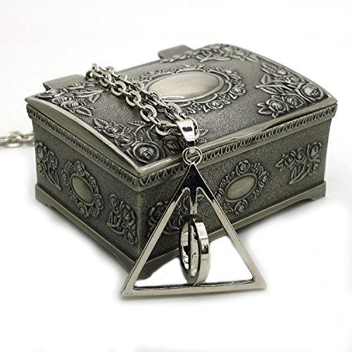 Harry Potter Hermione Blumen-Ohrringe mit Schmuck-Box, gro?es Geschenk f¨¹r Harry Potter Fans Weihnachtsgeschenke