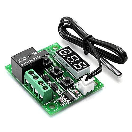 Preisvergleich Produktbild SODIAL(R) DC 12V Temperatur Regler Thermostat Thermo Temperaturschalter Sensor -50-110¡ãC