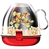 #7: MagnusDeal® Pop Corn Maker Serves directly from the bowl Bulb-shaped carafe yields more popped kernels with less burnt pieces. Color :Red