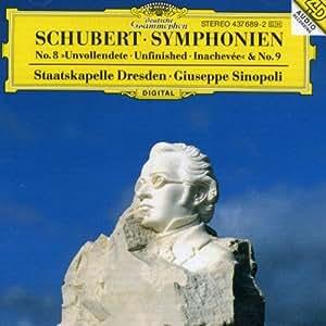 "Schubert: Symphony Nos.8 ""Unfinished"" & 9"