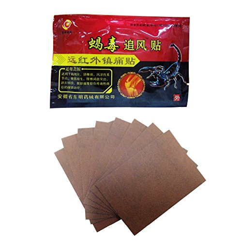Unim 24-patch/3-bag Chinesisch Schmerzlinderung Pflaster Entlastung Rheuma Arthritis & Knie Gelenke Rückenschmerzen -