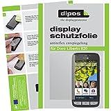 dipos I 2X Schutzfolie matt passend für Doro Liberto 820 Folie Displayschutzfolie
