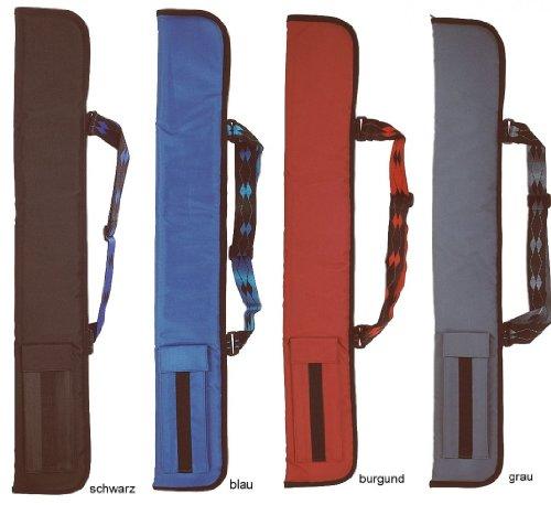 Queuetasche Soft mit Gurt, 1/2 Tasche für Billard Queue, Color:blue