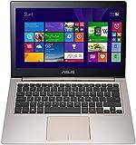 Asus Zenbook UX303LA-RO467T 33,8 cm (13,3 Zoll,HD) Notebook (Intel Core i5 5200U, 8GB RAM, 500GB HDD, HD Graphic, Win 10 Home) bronze