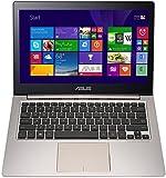 ASUS Zenbook UX303LA-R4342T 33,8 cm (13,3 Zoll HD) Laptop (Intel Core i7 5500U, 8GB RAM, 256GB SSD, HD Graphic, Win 10 Home) Bronze