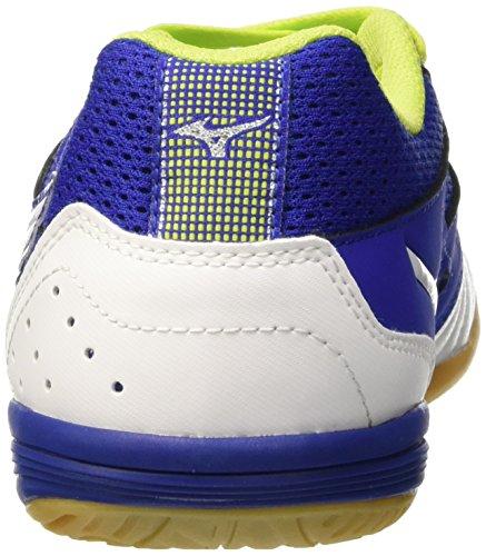 Mizuno Sala Premium In, Chaussures de Football Homme Bleu - Blu (Surf The Web/White)