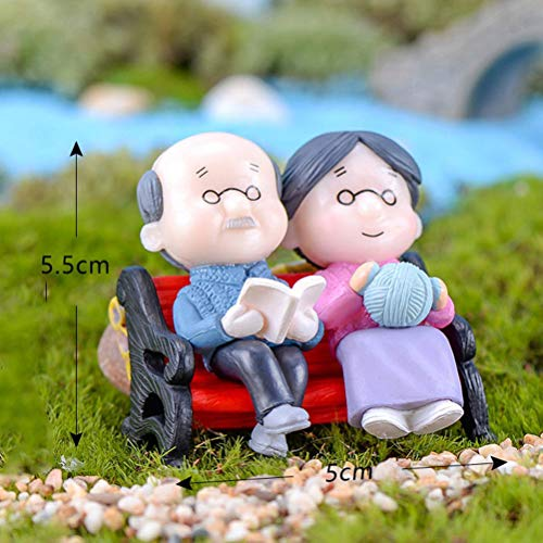Fairy Garden Accessories Resin Cartoon Sweet Lovers Toys Cake Dessert Decoration Doll house DIY Accessories Home Decoration Micro Landscape