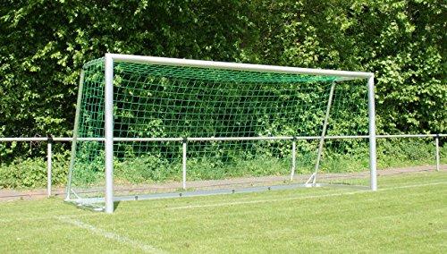 Haspo Fußballtor - mobiles Jugendtor - 5,00 x 2,00 m - vollverschweißt, untere Tortiefe/Auslage:1.50m