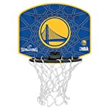 Spalding Ball NBA miniboard golden state 77-642Z, gelb/blau, One Size, 3001588012617