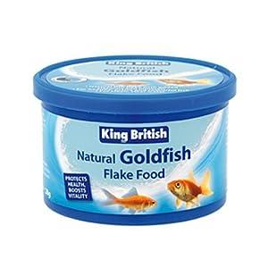 200g King British Goldfish Flake Aquarium Food by King British