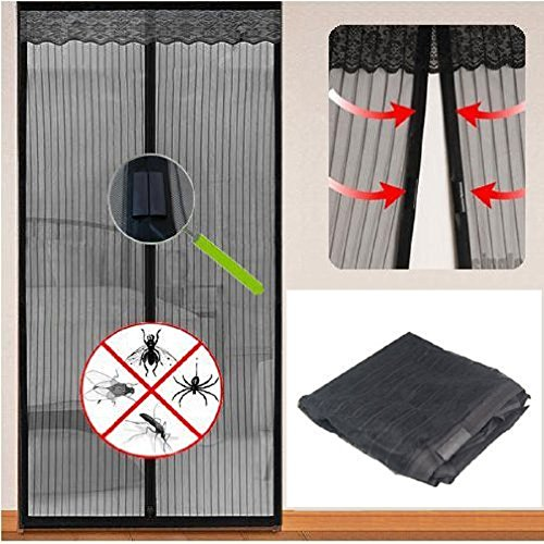 Fair zanzariera tenda magnetica anti zanzare magic mesh casa porte balcone