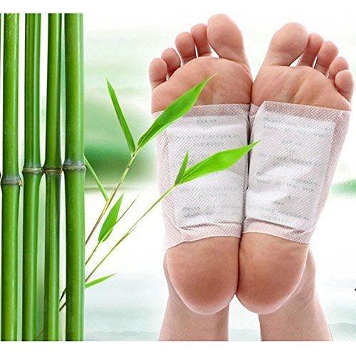 Fuß-pad, Die Giftstoffe Entfernen (Vital-Pflaster Detoxpflaster für die Körperentschlackung (100 Stück-Packung) von Global Care Market®)