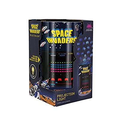 Space Invaders Projection Light, Multi-Colour : everything five pounds (or less!)