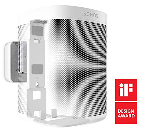 Vogel's Sound 4201, Soporte de Pared para Sonos One & Play:1, Blanco
