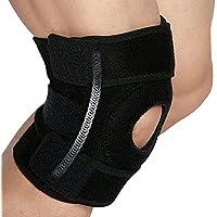 GSS-Rodillera Sports Knee Pads para Hombres y Mujeres Compression Spring Support Equipo de protección Open Basketball Badminton Running Hiking Leggings