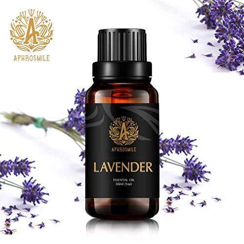 Aphrosmile Lavendel Ätherisches Öl (30 ml/1 Unze) - 100% Lavendel Myrrhen Öl, Ätherisches Aromatherapie Öl in Bio-QualitÄt -