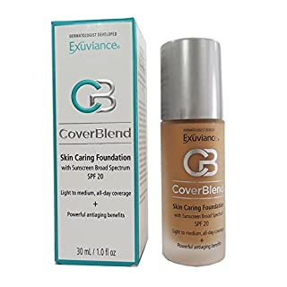 Exuviance - CoverBlend Skin Caring Foundations SPF 20 Honey Sand by Exuviance