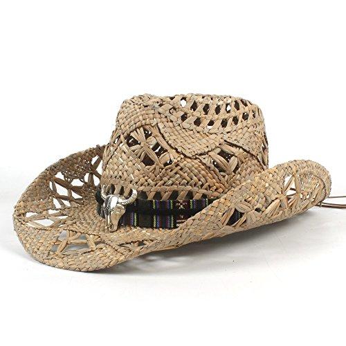 Schwarzes Mini Cowboy Hut - Sonnenhut, AZT Vintage Womem Männer Western