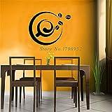 Wandtattoo Kinderzimmer Wandtattoo Schlafzimmer Design Eine Tasse Kaffee und Kaffeebohne-Küchenfliese dekorativ