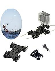 Kitesurf Kite línea montaje, kiteboarding Line de soporte de adaptador de adaptador para GoPro HD Héroe, Hero 4Hero 3+, hero 321, para GoPro Accesorios de cámara
