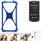 K-S-Trade Mobile Phone Bumper for Ruggear RG740 Silicone