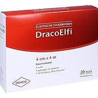 DRACOELFI elast.Fixierbinde 4 cmx4 m gekreppt 20 St Binden preisvergleich bei billige-tabletten.eu
