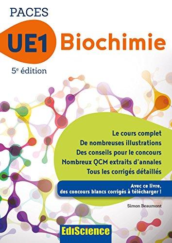 PACES UE1 Biochimie - 5e éd. (1 - UE1)