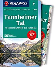 Tannheimer Tal von Nesselwängle bis Jungholz: Wanderführer mit Extra-Tourenkarte 1:25.000, 50 Touren, GPX-Daten zum Download (KOMPASS-Wanderführer, Band 5609)