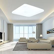 SAILUN 36W Kaltweiss Deckenleuchte Quadra Ultraslim LED Deckenlampe Wandlampe Panel Lampe Energiespar Flurlicht Fr Wohnzimmer