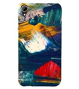 PrintVisa Painting Pattern 3D Hard Polycarbonate Designer Back Case Cover for HTC Desire 828