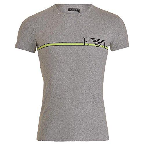 Emporio Armani Underwear Herren Sporttop 1110357P525, Grau (Grigio Melange 00048), Large