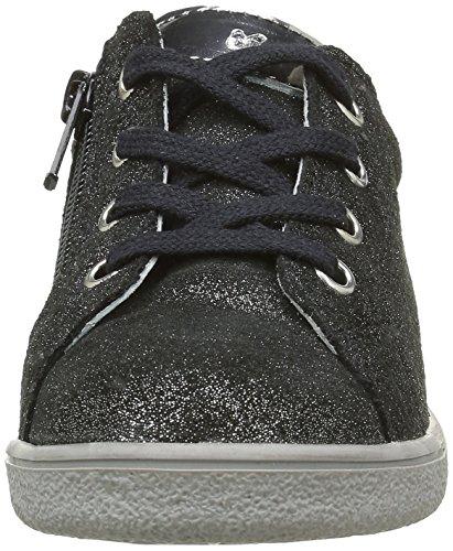 Minibel Mädchen Luxe Sneaker Schwarz - Noir (67 Paillette Noir/Acier)