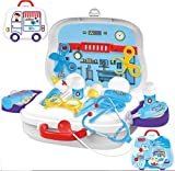 #5: FunBlast Doctor Kit Toys for Kids,Doctor Kit Pretend Play Doctor Play Set Medical Carry case Nurses Toy Set Fun Toy Gift Early Education for Kids