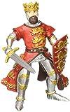 Papo 39338 - Richard Löwenherz, Spielfigur, rot