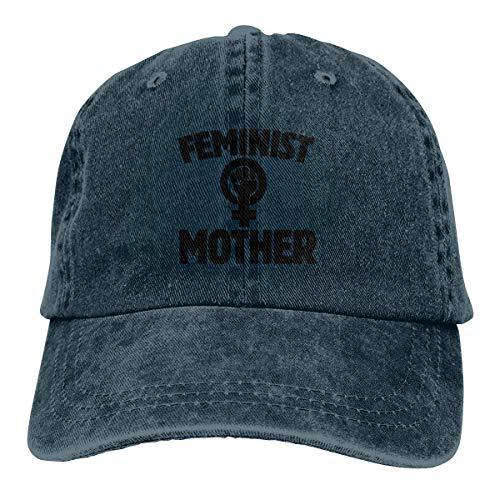 surce Sombrero de Dril de algodón Lavado Madre Feminista Gorros de béisbol Unisex Ajustables para papá