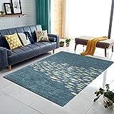 CarPET Teppich Matte einfache Mode Trendige Design Wohnzimmer Esszimmer Bedrooom Bedside Rechteck Hause Decke klassischen Boden Bodengröße 160cm * 230cm