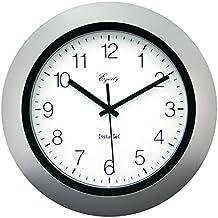 Equity by La Crosse 40222S 10 Inch Auto Set wall clock by Equity by La Crosse