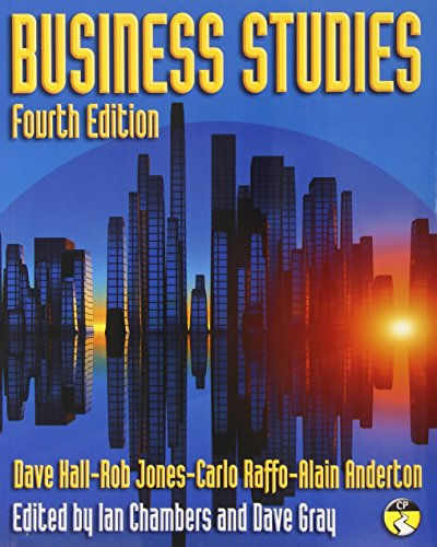 Business Studies - Fourth Edition